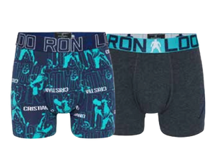 CR7 BOYS TRUNKS 2-PACK