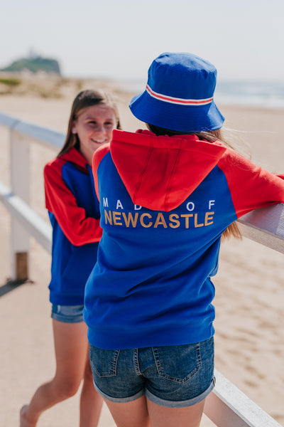 NEWCASTLE JETS BUCKET HAT - EXCLUSIVE TO EVERYTHING FOOTBALL
