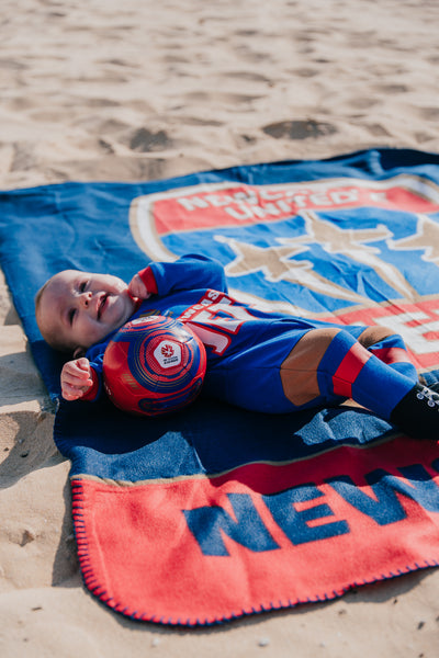 NEWCASTLE JETS FOOTYSUIT - YOUTH INFANT