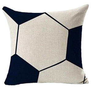 SOCCER BALL CUSHION COVER