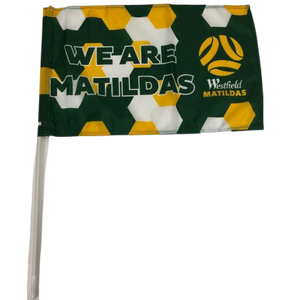 MATILDAS SUPPORTER FLAG - [everything-football].