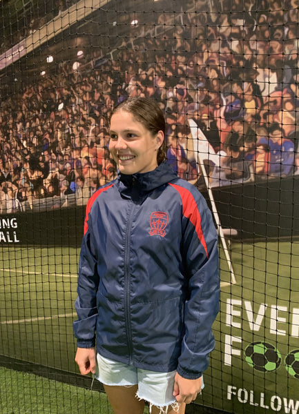 NEWCASTLE JETS WET WEATHER WOMENS/YOUTH JACKET
