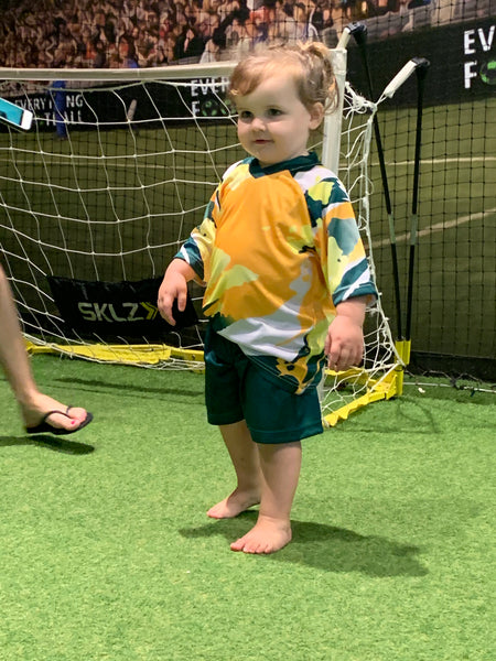 AUSTRALIAN MATILDAS REPLICA KIT (with any name and number printed inc.)