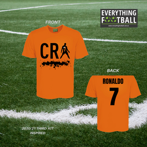 CR7 JUVENTUS PERSONALISED SUPPORTER SHIRT