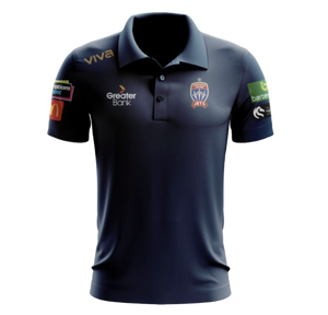 NEWCASTLE JETS MEDIA POLO MENS 2019/20