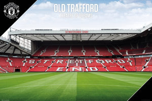 MANCHESTER UNITED STADIUM OLD TRAFFORD POSTER - [everything-football].