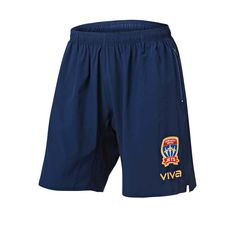 NEWCASTLE JETS VIVA COACHES SHORTS 2018/19 MENS - [everything-football].