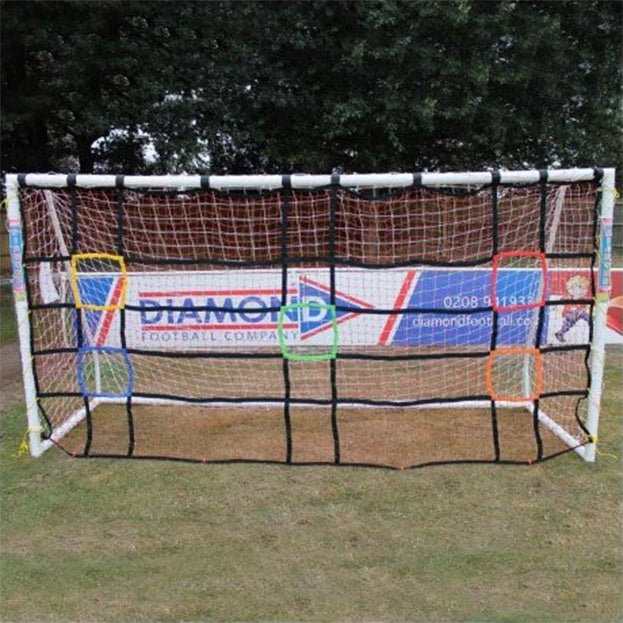 PATRICK DIAMOND SHARP SHOOTER GOAL TARGET NET - 12 X 6 - [everything-football].