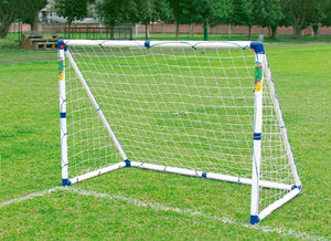 OUTDOOR PLAY SOCCER GOAL NEW STRUCTURE DELUXE