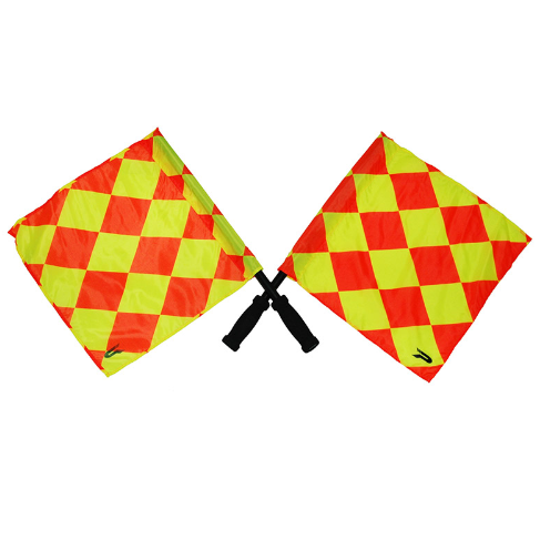 PATRICK LINESMAN FLAGS W/BAG - [everything-football].