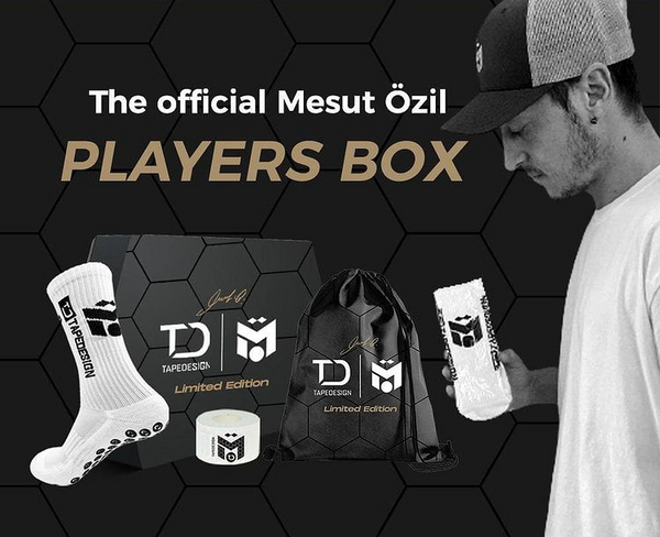 TAPEDESIGN EXCLUSIVE DESIGNED MESUT OZIL LIMITED EDITION M10 PLAYERS PACK