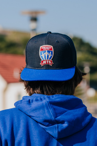 BRANDE NEWCASTLE JETS FLAT PEAK CAP
