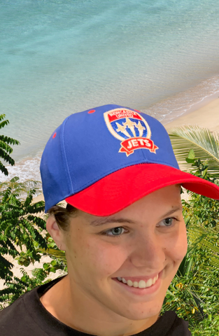 NEWCASTLE JETS SUPPORTERS CAP