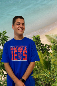 NEWCASTLE JETS MENS COTTON T-SHIRT