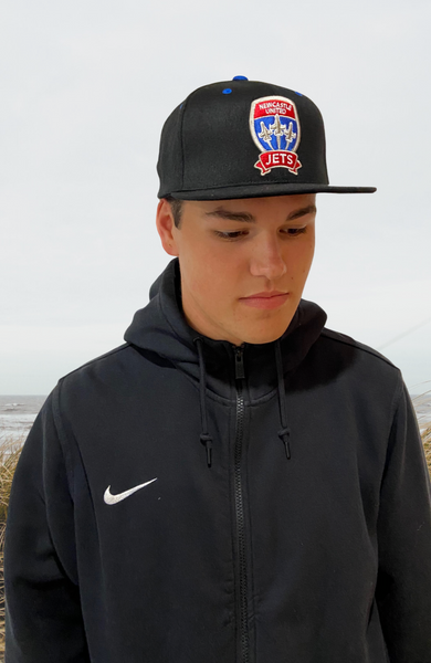 NEWCASTLE JETS FLAT PEAK SNAP BACK CAP
