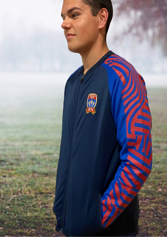 NEWCASTLE JETS STADIUM JACKET MENS