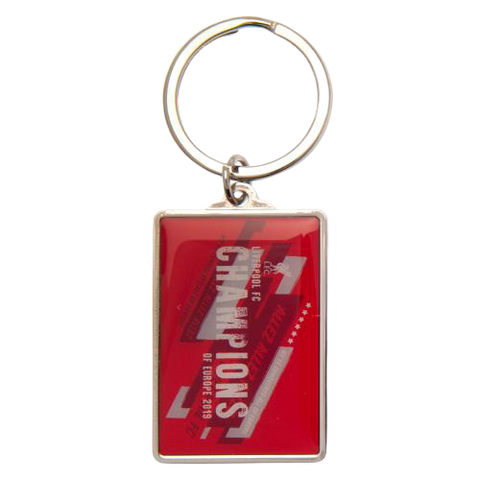 LIVERPOOL FC CHAMPIONS OF EAUROPE KEYRING