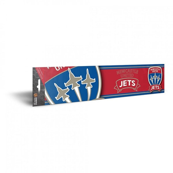 NEWCASTLE JETS BUMPER STICKER - [everything-football].