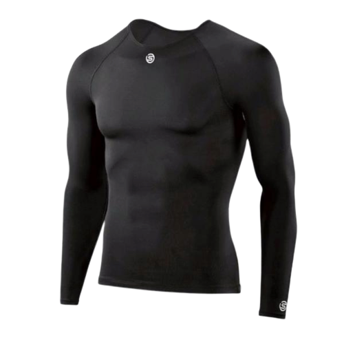 SKINS TEAM MENS COMPRESSION LONG SLEEVE TOP - [everything-football].
