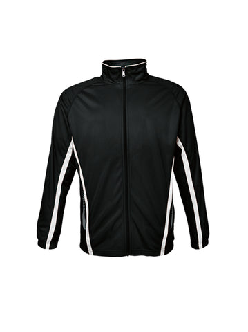 KIDS ELITE SPORTS TRACK JACKET BLACK
