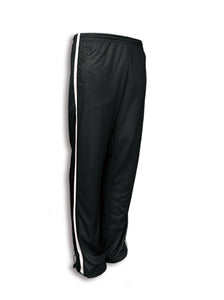 KIDS ELITE SPORTS TRACK PANTS BLACK