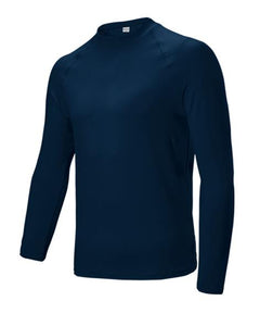 LONG SLEEVE BASELAYER TOP - NAVY