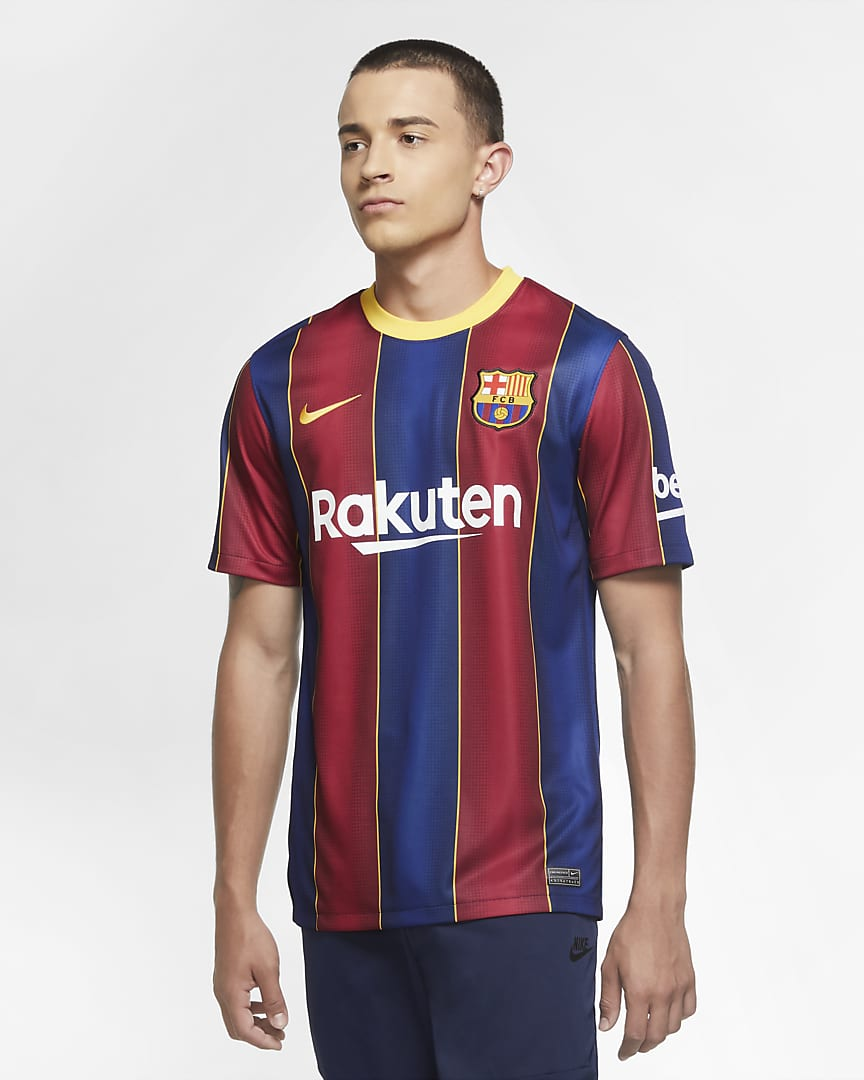BARCELONA FC 2020/21 STADIUM HOME MENS JERSEY