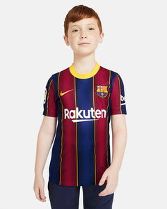 BARCELONA FC 2020/21 KIDS STADIUM HOME KIT (JERSEY & SHORTS)
