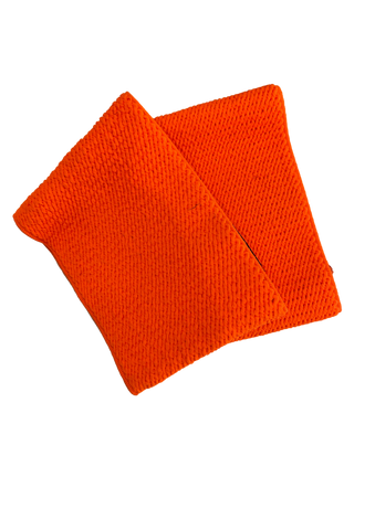 Shin guard straps stays - FLURO ORANGE