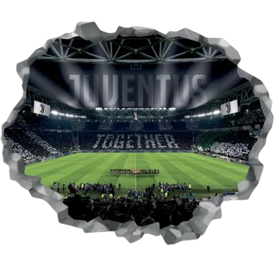 JUVENTUS FC WALL ART STADIUM