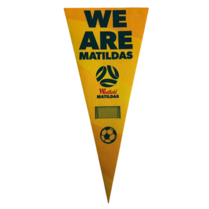 MATILDAS PENNANT FLAG - [everything-football].