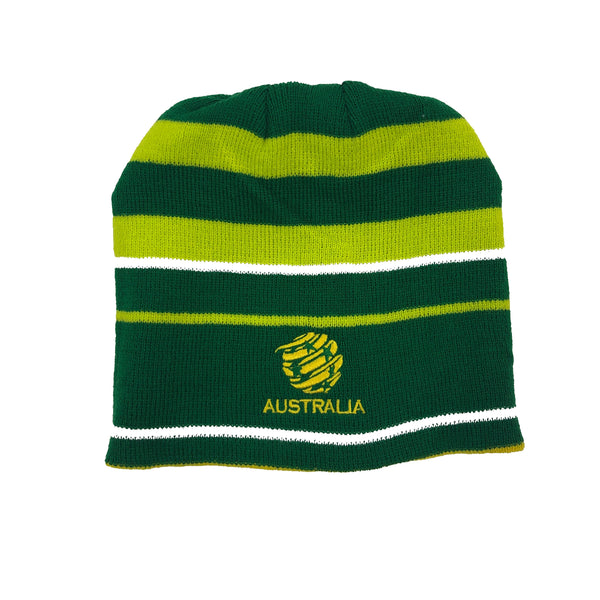 AUSTRALIA CROSSBAR REVERSABLE BEANIE - [everything-football].
