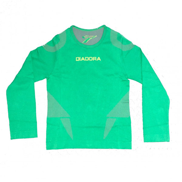 DIADORA SEAMLESS LONG SLEEVE JUNIOR TOP - [everything-football].
