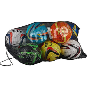 MITRE MESH BALL SACK - HOLDS 10 - [everything-football].