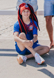 NEWCASTLE JETS DREADLOCK FUN HAT