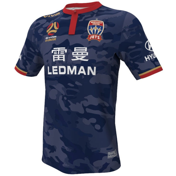 NEWCASTLE JETS VIVA RAAF JERSEY YOUTH / MENS - [everything-football].