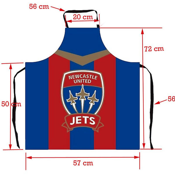 NEWCASTLE JETS BAR APRON - [everything-football].
