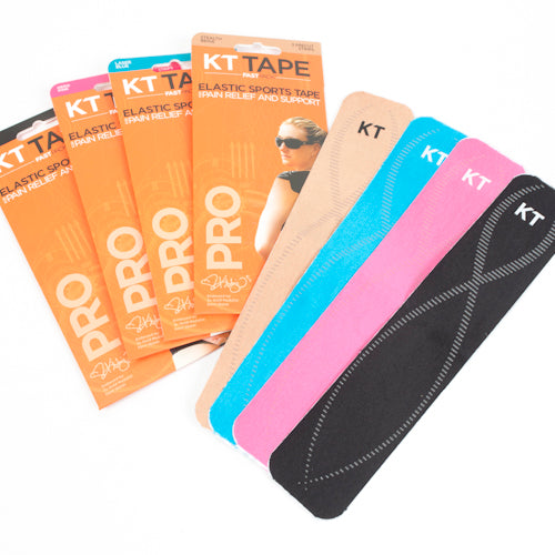 KT TAPE PRO, FAST PACK 3 STRIP - [everything-football].