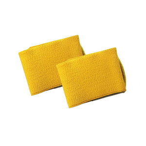 Shin guard straps stays - YELLOW