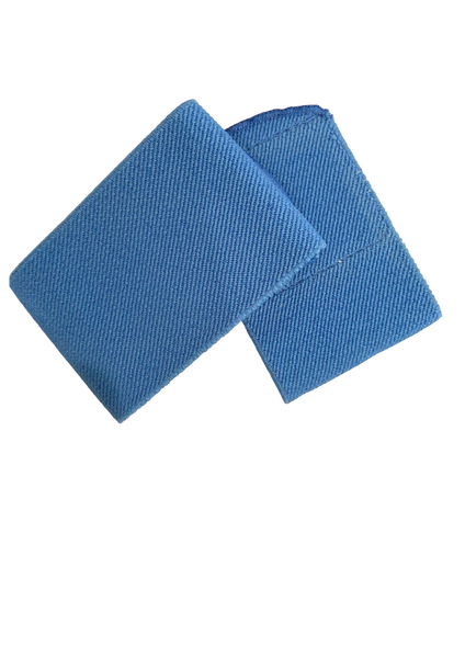 Shin guard straps stays - SKY BLUE