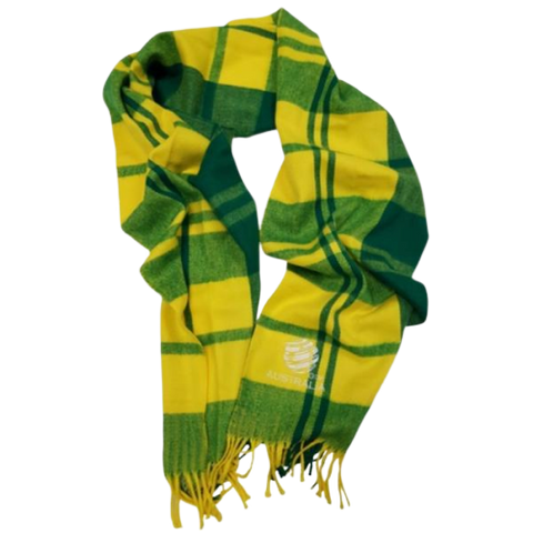 AUSTRALIA TARTAN SCARF - [everything-football].