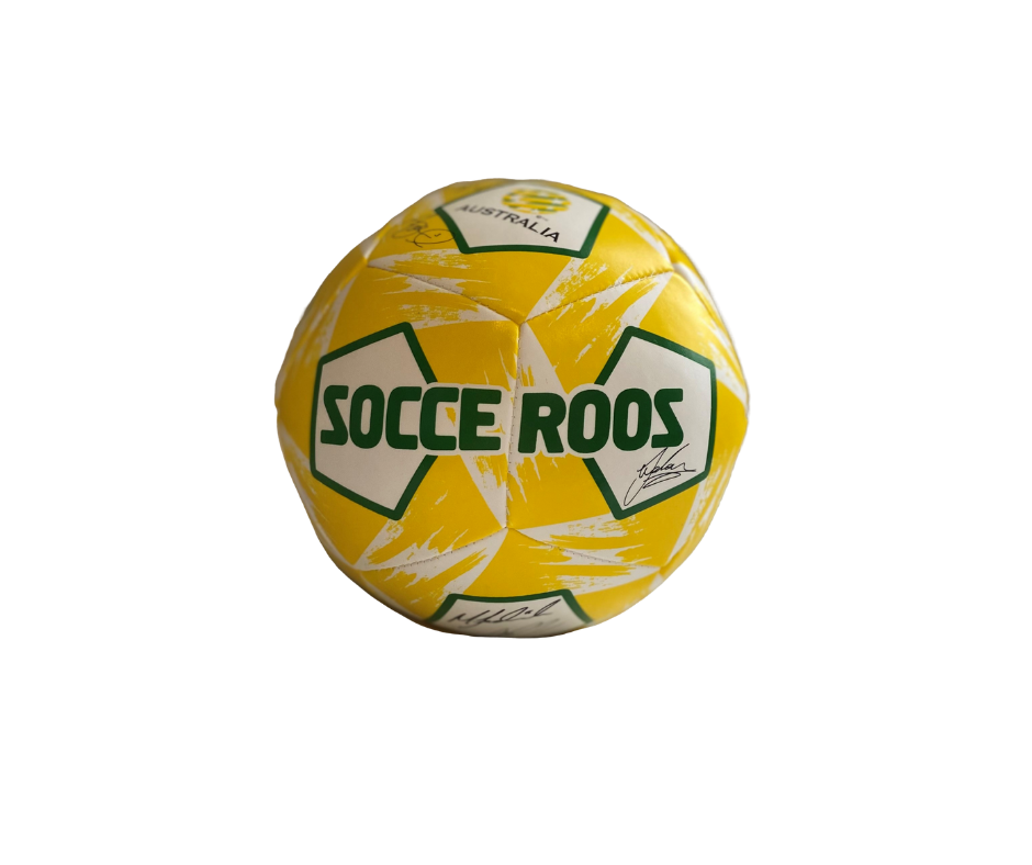"5"" SOFT SOCCEROOS SIGNATURE SOCCER BALL"