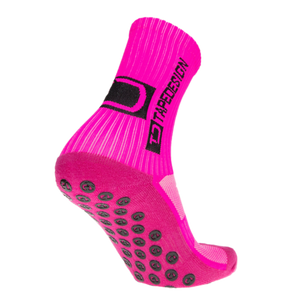 TAPEDESIGN ALL ROUND CLASSIC GRIP SOCK - FLURO PINK