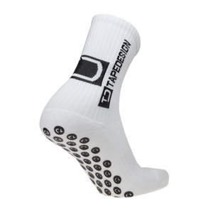TAPEDESIGN ALL ROUND CLASSIC GRIP SOCK  - WHITE