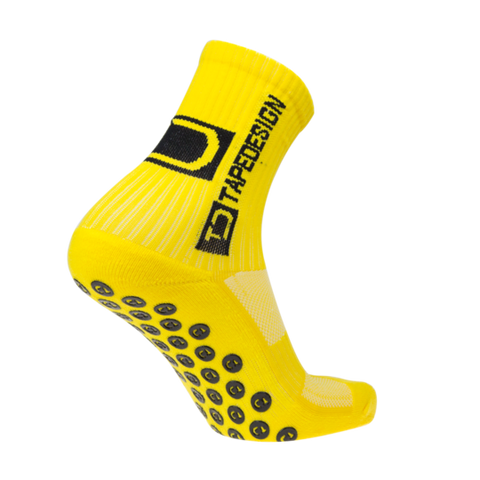TAPEDESIGN ALL ROUND CLASSIC GRIP SOCK - YELLOW