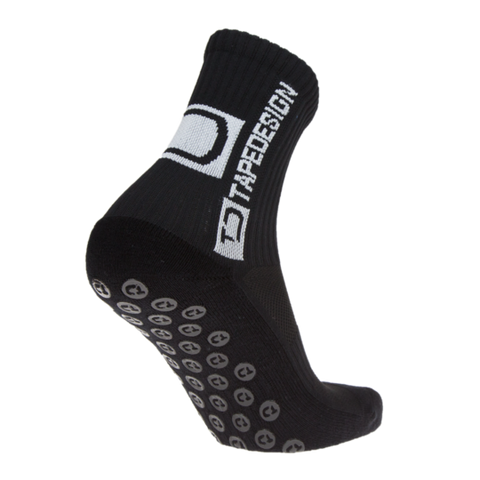 TAPEDESIGN ALL ROUND CLASSIC GRIP SOCK - BLACK