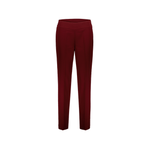 Pantalone Zip laterale Bordeaux