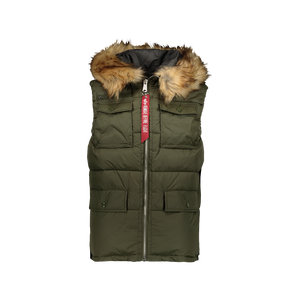 Gilet Field Hooded Verde Militare