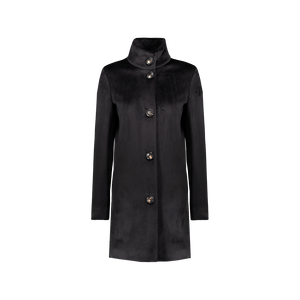 Cappotto Neo Velvet Coat  Lady Nero