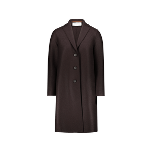 Cappotto Monopetto Marrone